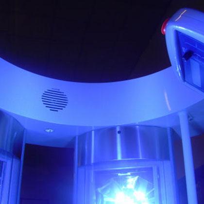 Solarium doccia Magic shower plus 5 colonne