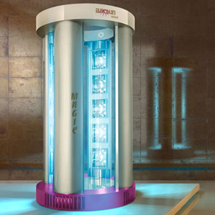 Solarium doccia Magic shower plus 4 colonne