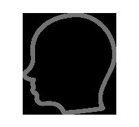 Abbronza testa per individui calvi